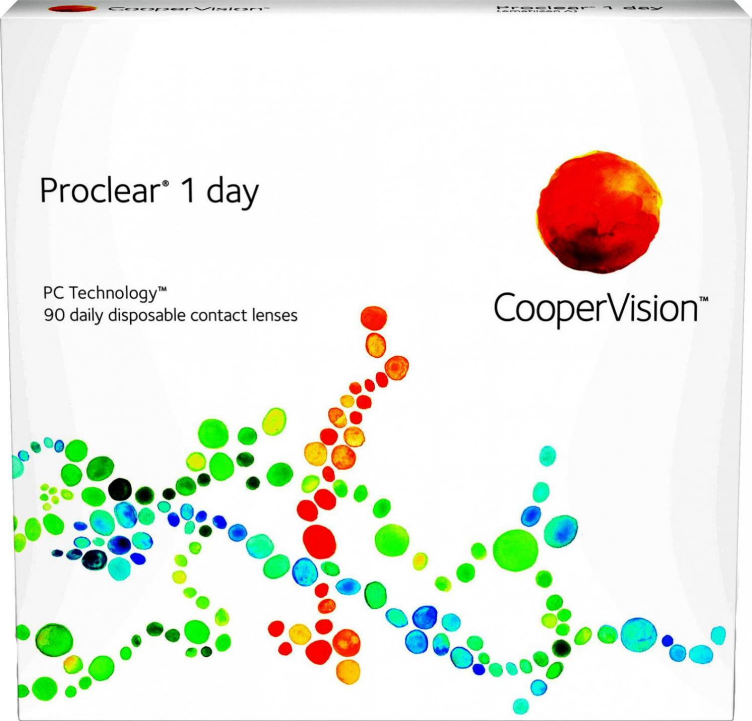 Cooper Vision Proclear 1 Day +6.50 (90 Stk.)
