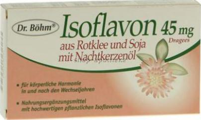 Isoflavon 45 mg Dr. Boehm Dragees 30 St Dragees