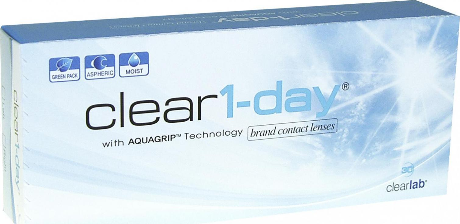 ClearLab Clear 1-Day -2.50 (30 Stk.)