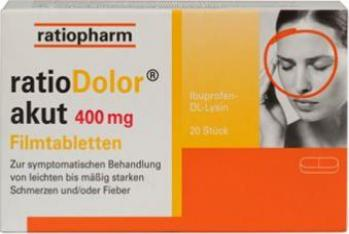 RATIODOLOR AKUT FILMTABL 400MG (ratiopharm) (20 ST)-
