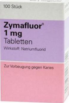 Zymafluor Tabletten 1mg (100 ST)-