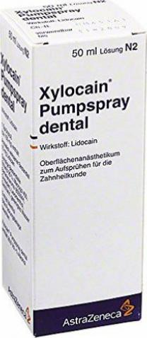 xylocain pumpspray dental 50ml g nstig kaufen apotheke. Black Bedroom Furniture Sets. Home Design Ideas