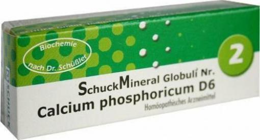 schuck schuckmineral globuli 2 calcium phosphoricum d6 7. Black Bedroom Furniture Sets. Home Design Ideas